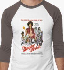 Sugar Hill (Red) Men's Baseball ¾ T-Shirt
