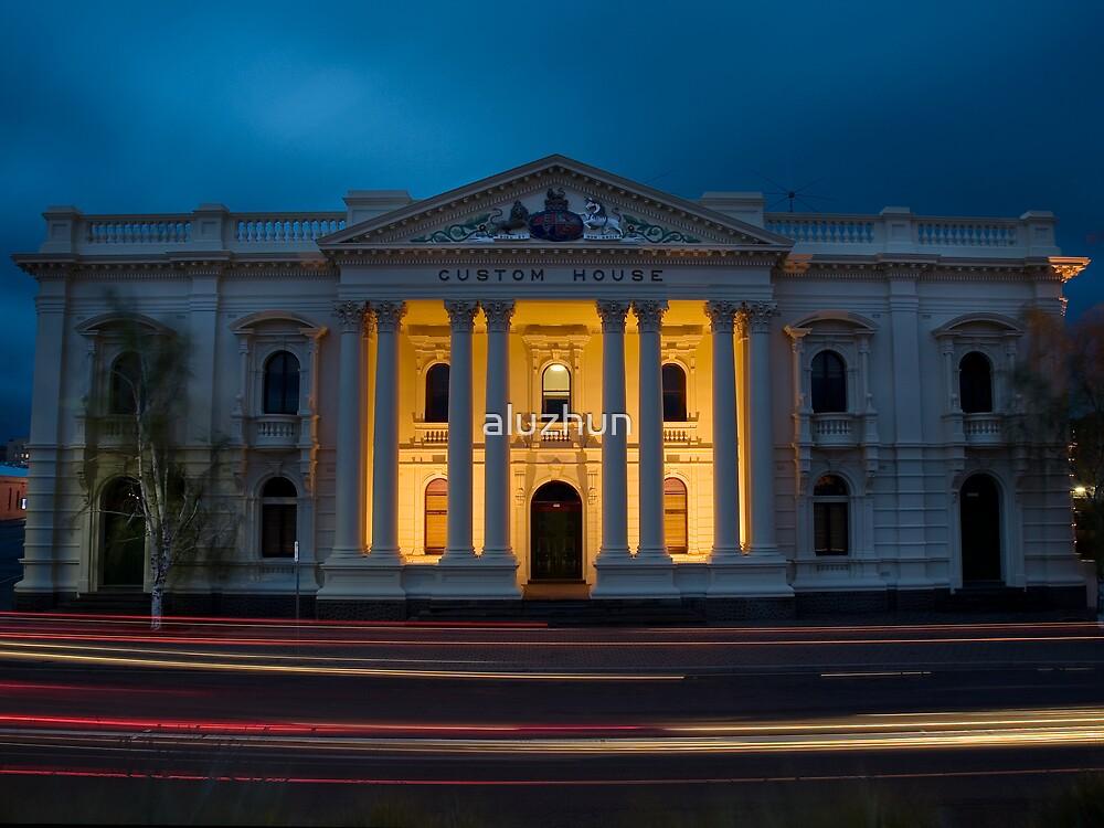 Custom House Launceston, Tasmania by aluzhun