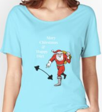 Mary Chirstmas and Happy Diet Women's Relaxed Fit T-Shirt