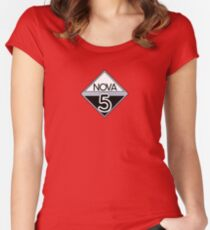 NOVA 5 (Red Dwarf) Women's Fitted Scoop T-Shirt