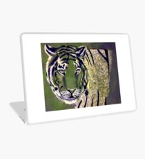 White Tiger  Laptop Skin