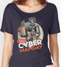 Cybermanday Women's Relaxed Fit T-Shirt