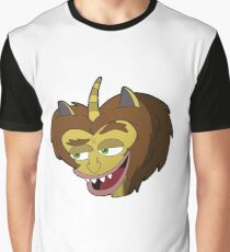 Big Mouth - Hormone Monster Graphic T-Shirt