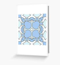 Blue Utopia Greeting Card
