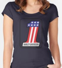 Harley Davidson 1 Women's Fitted Scoop T-Shirt
