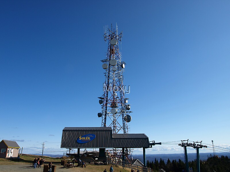Radio Tower at the Summit  by Moxy