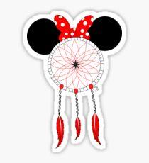 Mini Mouse dream catcher Sticker