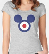Indie culture icon Women's Fitted Scoop T-Shirt