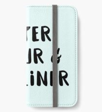 Watercolour and Fine Liner iPhone Wallet/Case/Skin