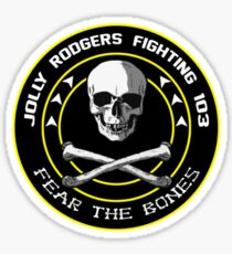 Fighting 103 Jolly Rogers Badge Sticker