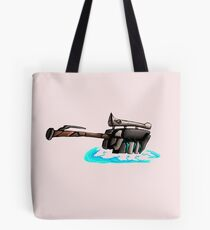 Gravity Hammer Tote Bag