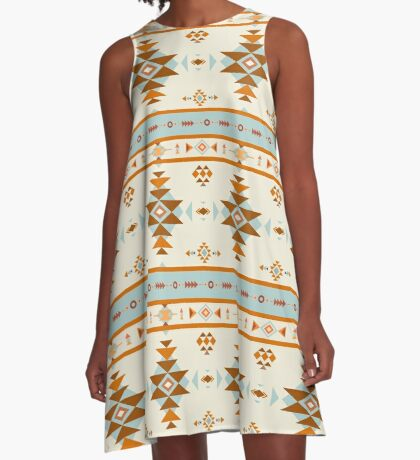 AFE Southwestern A-Line Dress