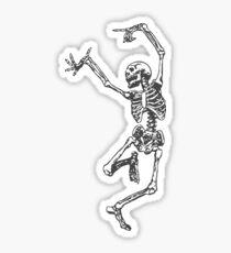 Skeleton dancing Sticker