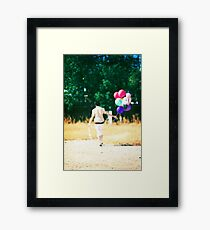 If you carry your childhood with you, you never become older. Framed Print