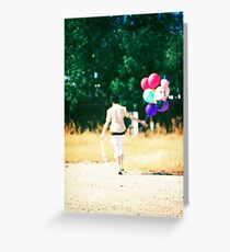 If you carry your childhood with you, you never become older. Greeting Card