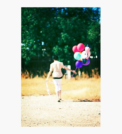 If you carry your childhood with you, you never become older. Photographic Print