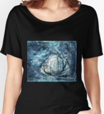 Twilight - oil on canvas Women's Relaxed Fit T-Shirt