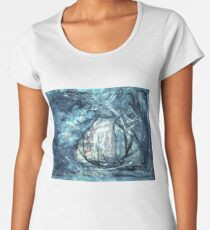 Twilight - oil on canvas Women's Premium T-Shirt