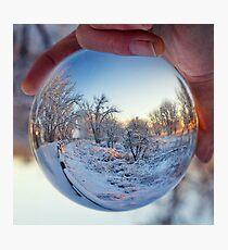 Crystal Path Sunrise Photographic Print