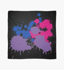 Paint Splatter (Bisexual) (v.1) Scarf