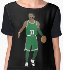 Masked Kyrie Irving Chiffon Top