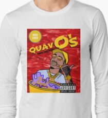 QuavO's Cereal (RED) Long Sleeve T-Shirt