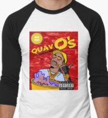 QuavO's Cereal (RED) Men's Baseball ¾ T-Shirt