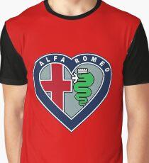 I <3 Alfa Romeo Graphic T-Shirt