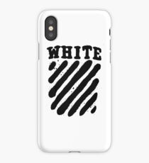 Off White White Edition iPhone Case/Skin