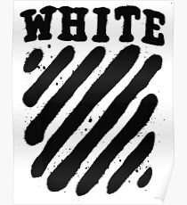 Off White White Edition Poster