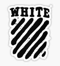 Off White White Edition Sticker