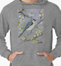 Bird on a branch  Lightweight Hoodie