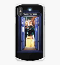 Buffy Meets the Tardis iPhone Case/Skin