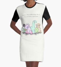 Plushie Toys Graphic T-Shirt Dress
