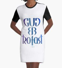 Gud er trofast Graphic T-Shirt Dress