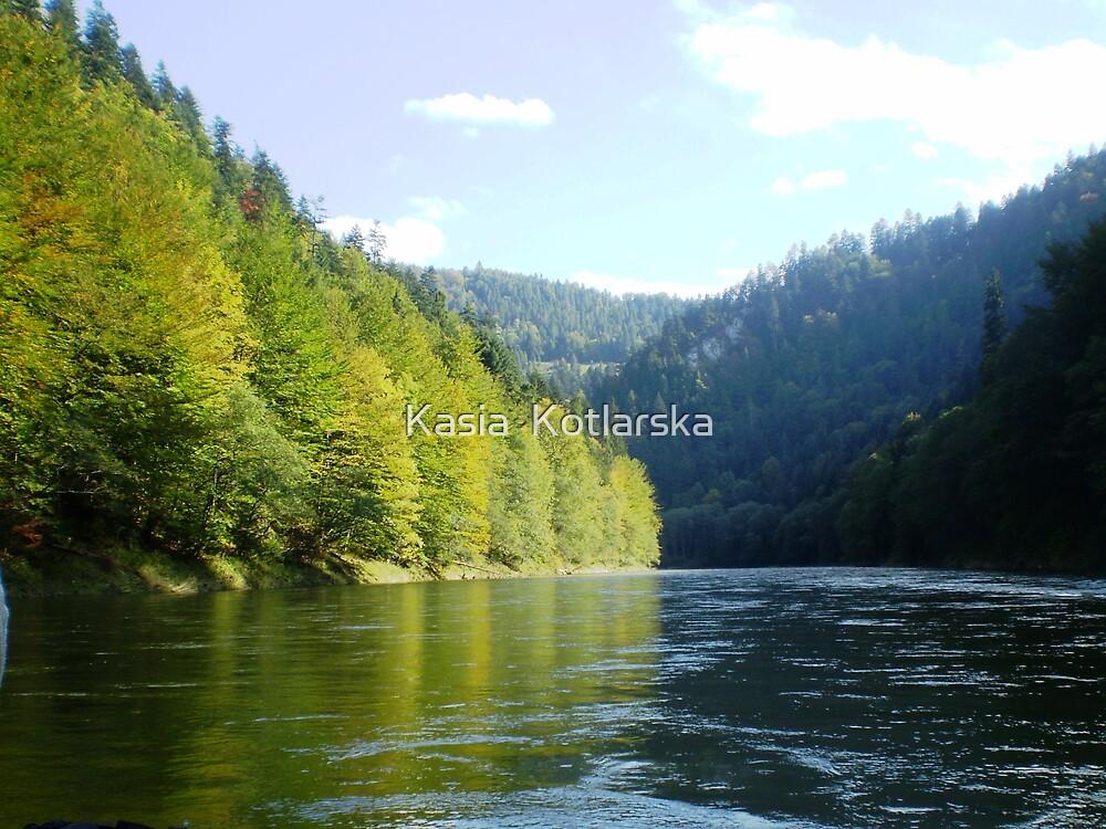 Dunajec River  by Kasia  Kotlarska