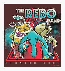 Rebo Reboot Photographic Print