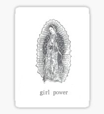 Pegatina Girl Power Virgin Of Guadelupe