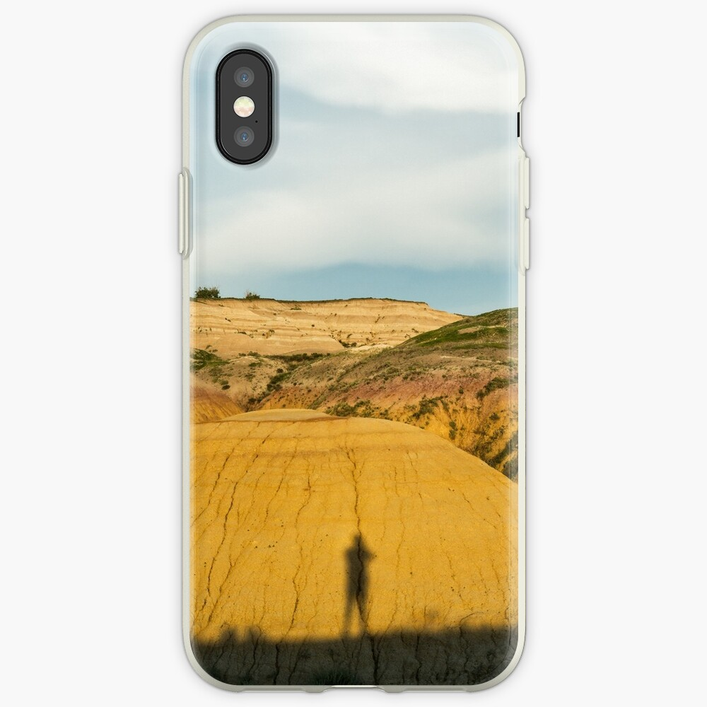 Yellow mounds in Badlands South Dakota iPhone Case & Cover