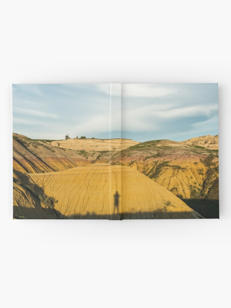 Alternate view of Yellow mounds in Badlands South Dakota Hardcover Journal