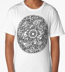 ZenTangle Ring of Daisies Long T-Shirt