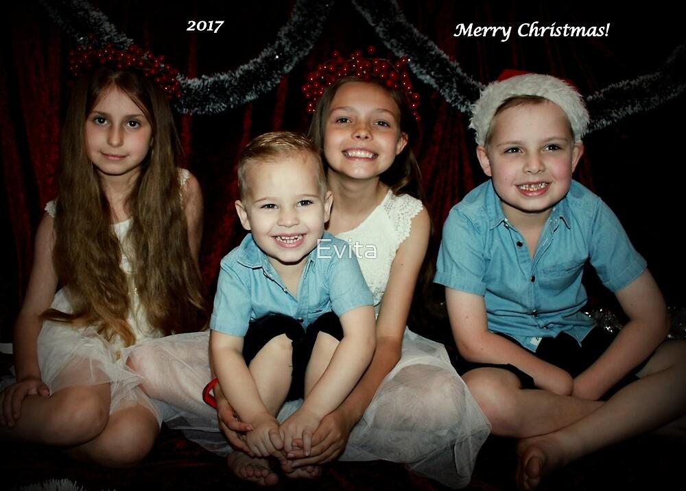 Frohe Weihnachten ~ 2017 von Evita