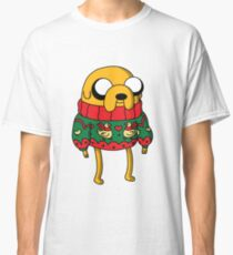 Jake the Dog Adventure Time Christmas Jumper Classic T-Shirt