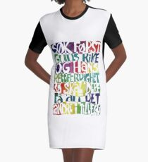 Søk først Guds rike Graphic T-Shirt Dress