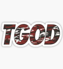 TGODredcamo Sticker
