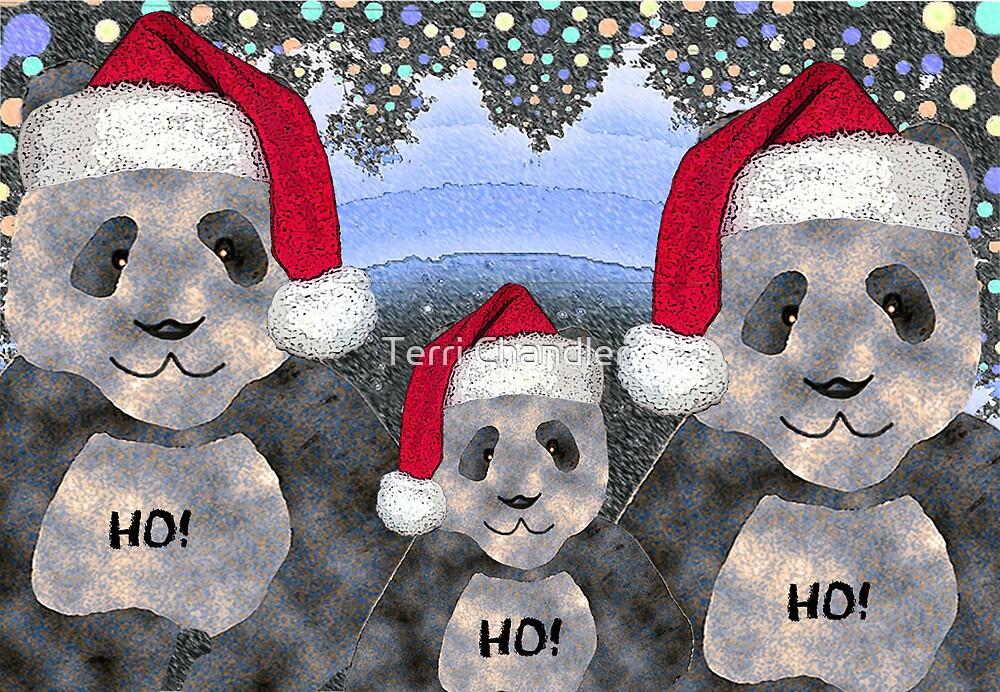 Panda Family Christmas by Terri Chandler