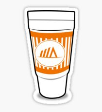 Whataburger Double Cup Sticker