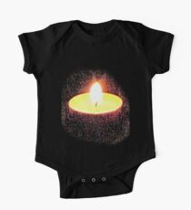 CANDLE  I PAD  PHONE CASE/TEE SHIRT/STICKER/ART One Piece - Short Sleeve