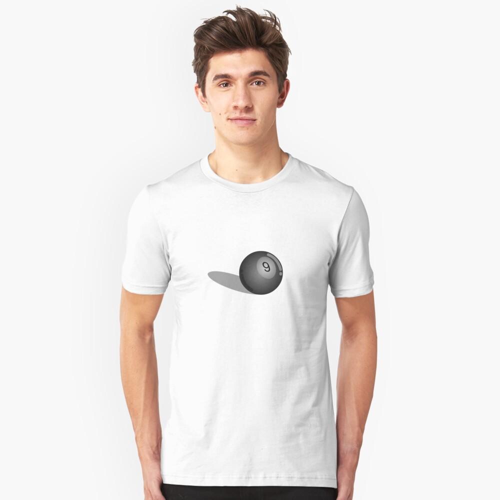 (9) Unisex T-Shirt Front