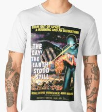 Science Fiction Movie RETRO The Day the Earth Stood Still Men's Premium T-Shirt